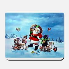 Woodland Santa Claus Mousepad