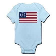 Flag of the Second American Revolution Body Suit
