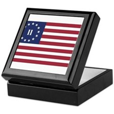 Flag of the Second American Revolution Keepsake Bo