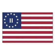 Flag of the Second American Revolution Decal
