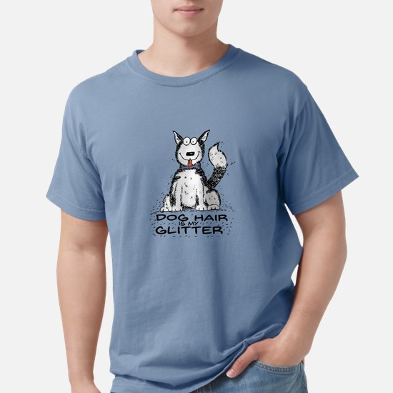 Dog Hair is My Glitter Mens Comfort Colors Shirt