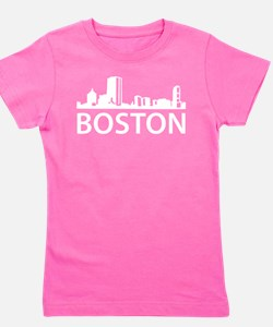 Boston Skyline Girl's Tee