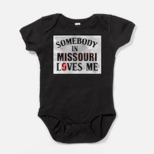 Somebody In Missouri Baby Bodysuit