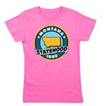 Montana Statehood Girl's Tee
