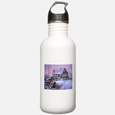 Country Christmas Water Bottle