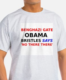 Benghazi Gate Obama Bristles says No There There T