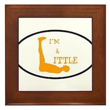 I'm a Little Tony Kornheiser Sticker Framed Tile