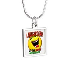LAUGHTER IS THE BEST MED 1 pract flat.png Necklace
