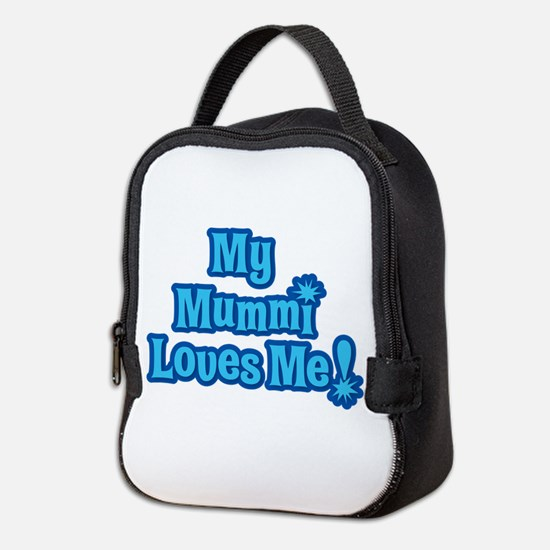 Neoprene Lunch Bag ~ Mummi Loves Me Design
