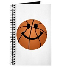 Basketball smiley face Journal