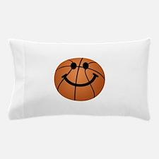 Basketball smiley face Pillow Case