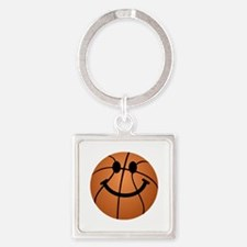 Basketball smiley face Keychains