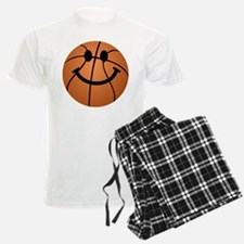Basketball smiley face pajamas