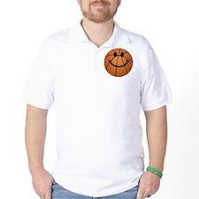 Basketball smiley face T-Shirt