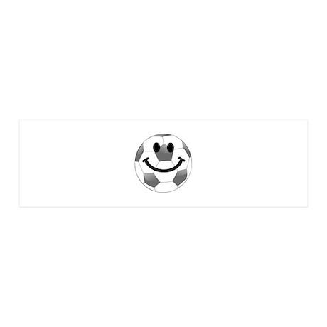 Soccer ball smiley face Wall Sticker