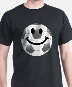 Soccer ball smiley face T-Shirt