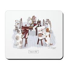 Dog Art Class Mousepad
