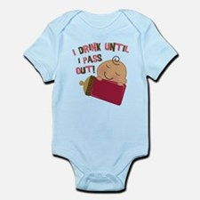 Drink Until Pass Out Infant Bodysuit