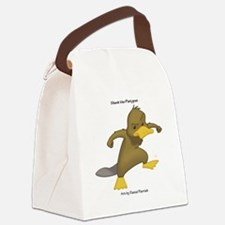 Shank the Platypus Canvas Lunch Bag
