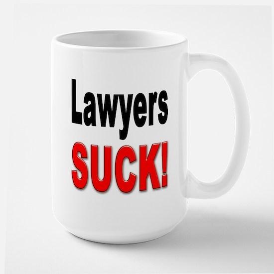 Lawyers Suck Large Mug