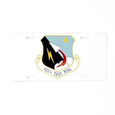 412th TW Aluminum License Plate
