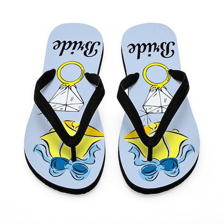 THE BRIDE Flip Flops