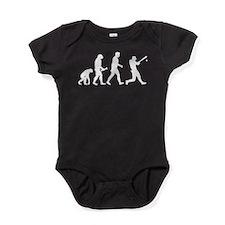 Baseball Evolution Baby Bodysuit