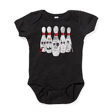 Funny Pins Baby Bodysuit