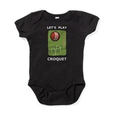 Let's Play Croquet Baby Bodysuit