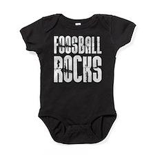 Foosball Rocks Baby Bodysuit