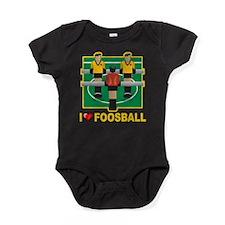 I Love Foosball Baby Bodysuit