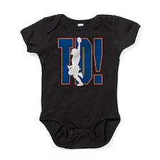 Football Touchdown Baby Bodysuit
