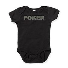 US Bills Poker Baby Bodysuit