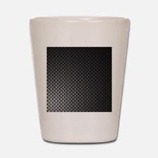 Carbon Fiber Pattern - Shot Glass