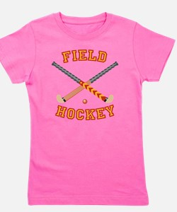 Field Hockey Girl's Tee
