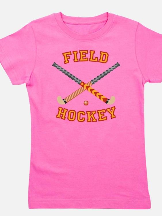Field Hockey Girl's Tee