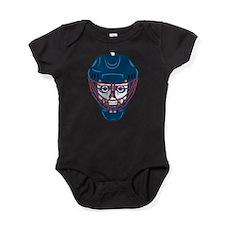 Hockey Skull Baby Bodysuit