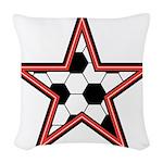 Soccer Star Woven Throw Pillow