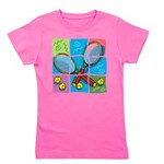 Tennis Puzzle Girl's Tee