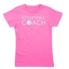 Volleyball Coach Girl's Tee