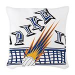 Spike It Woven Throw Pillow