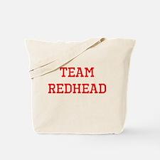 Team Redhead (red) Tote Bag