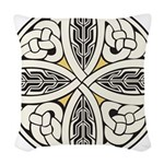 Celtic Knot Woven Throw Pillow