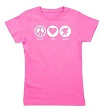 Peace Love Griffin Girl's Tee