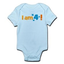 I am 4! Body Suit