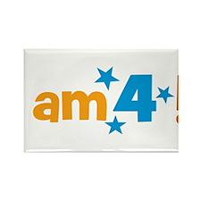 I am 4! Rectangle Magnet