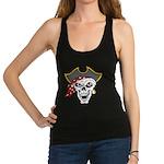 Pirate Skull Racerback Tank Top
