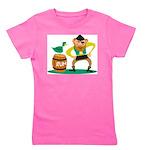 Funny Pirate Girl's Tee