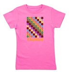Pop Art Taurus Girl's Tee