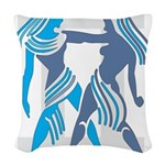 Gemini Woven Throw Pillow
